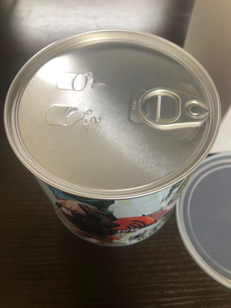 チェンソーマン缶詰カンバッチ